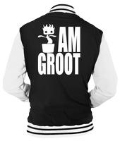 I AM GROOT VARSITY - INSPIRED BY GUARDIANS OF THE GALAXY